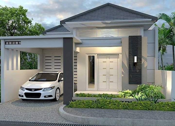 18 desain rumah minimalis modern terbaru 2018 dekor rumah for Design rumah mimimalis modern