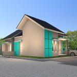 Desain Rumah Minimalis Modern Terbaru 1 Lantai Tampak Samping