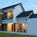 Gambar Desain Rumah Minimalis Modern Tampak Belakang