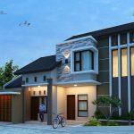 Gambar Desain Rumah Minimalis Modern Tampak Depan
