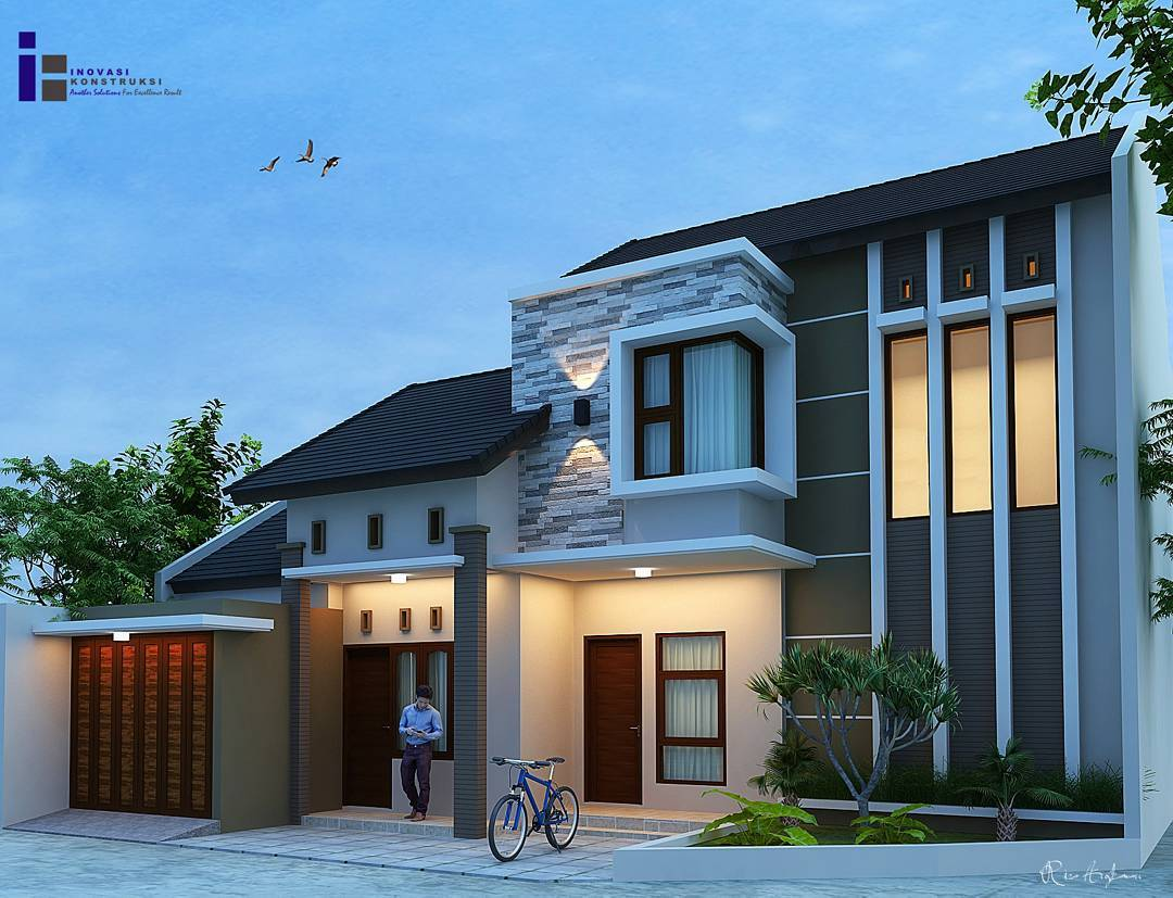 18 Desain Rumah Minimalis Modern Terbaru 2018  Dekor Rumah