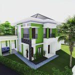 Gambar Desain Rumah Minimalis Modern Terbaru 2 Lantai