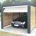 Desain Garasi Mobil Dari Kayu