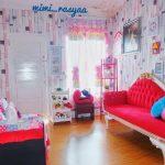 Desain Ruang Tamu Kecil Shabby Chic