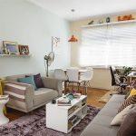 Desain Ruang Tamu Minimalis Jadi Satu Dengan Ruang Makan Ruang Komputer
