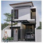 Foto Desain Rumah Minimalis Modern 2 Lantai