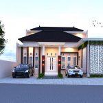 Gambar Desain Rumah Minimalis Modern 1 Lantai Tampak Depan