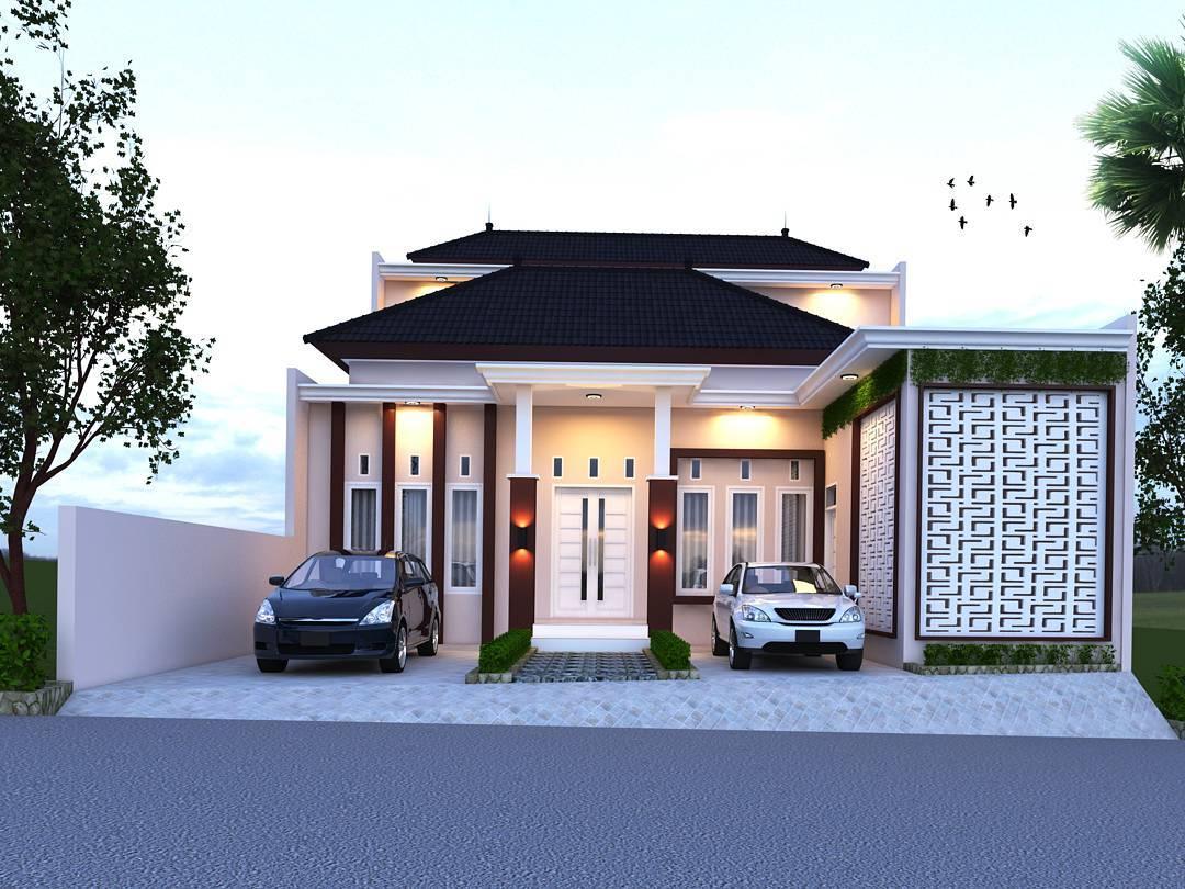 Desain Depan Rumah Minimalis 1 Lantai  Desain Rumah Minimalis Terbaru Tahun Ini