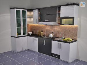 14 model lemari dapur minimalis terbaru 2021 | dekor rumah