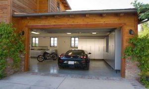 Model Garasi Mobil Rumah Mewah