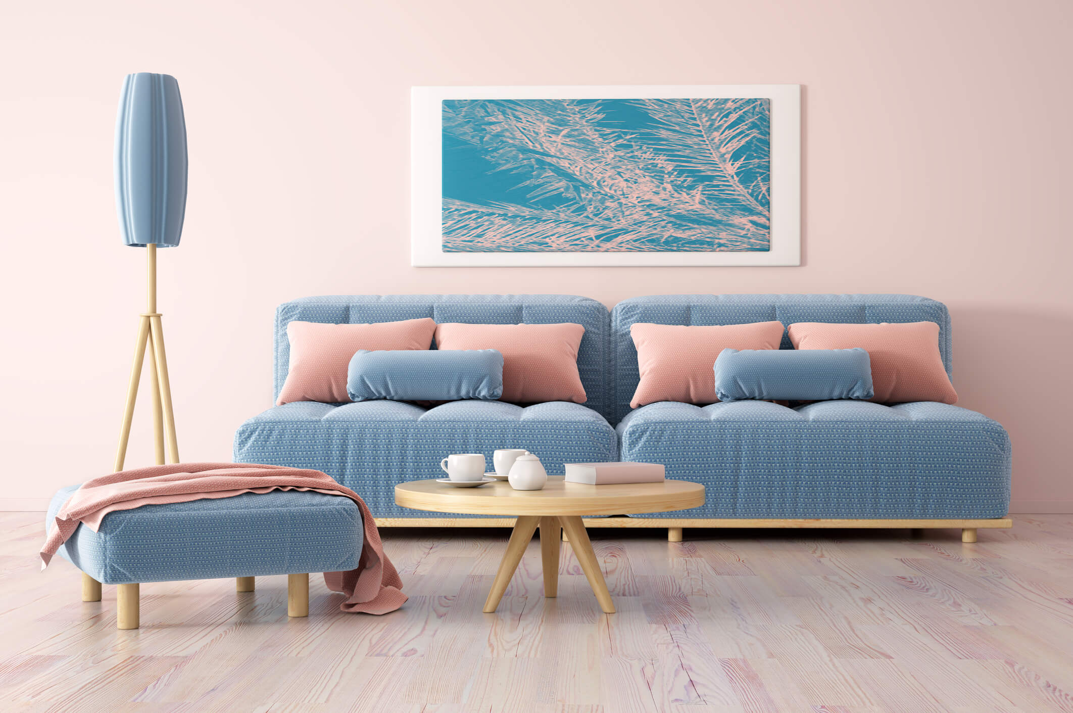 Contoh Warna Cat Tembok Ruang Tamu Yang Bagus