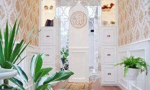 Desain Mushola Minimalis Dalam Rumah