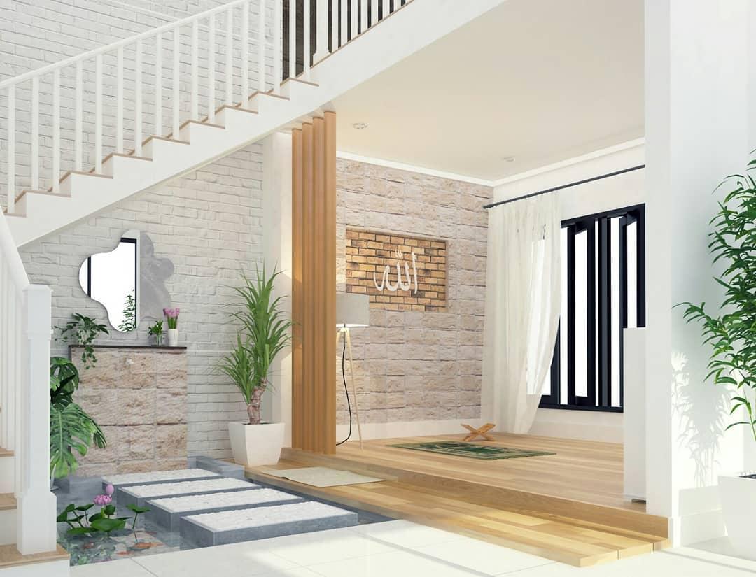 Desain Mushola Rumah Minimalis Dalam Rumah