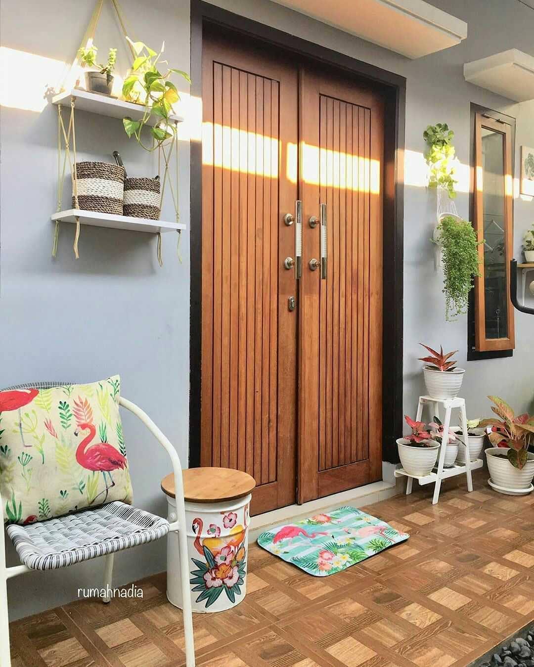 Desain Pintu Rumah Minimalis 2 Pintu Terbaru