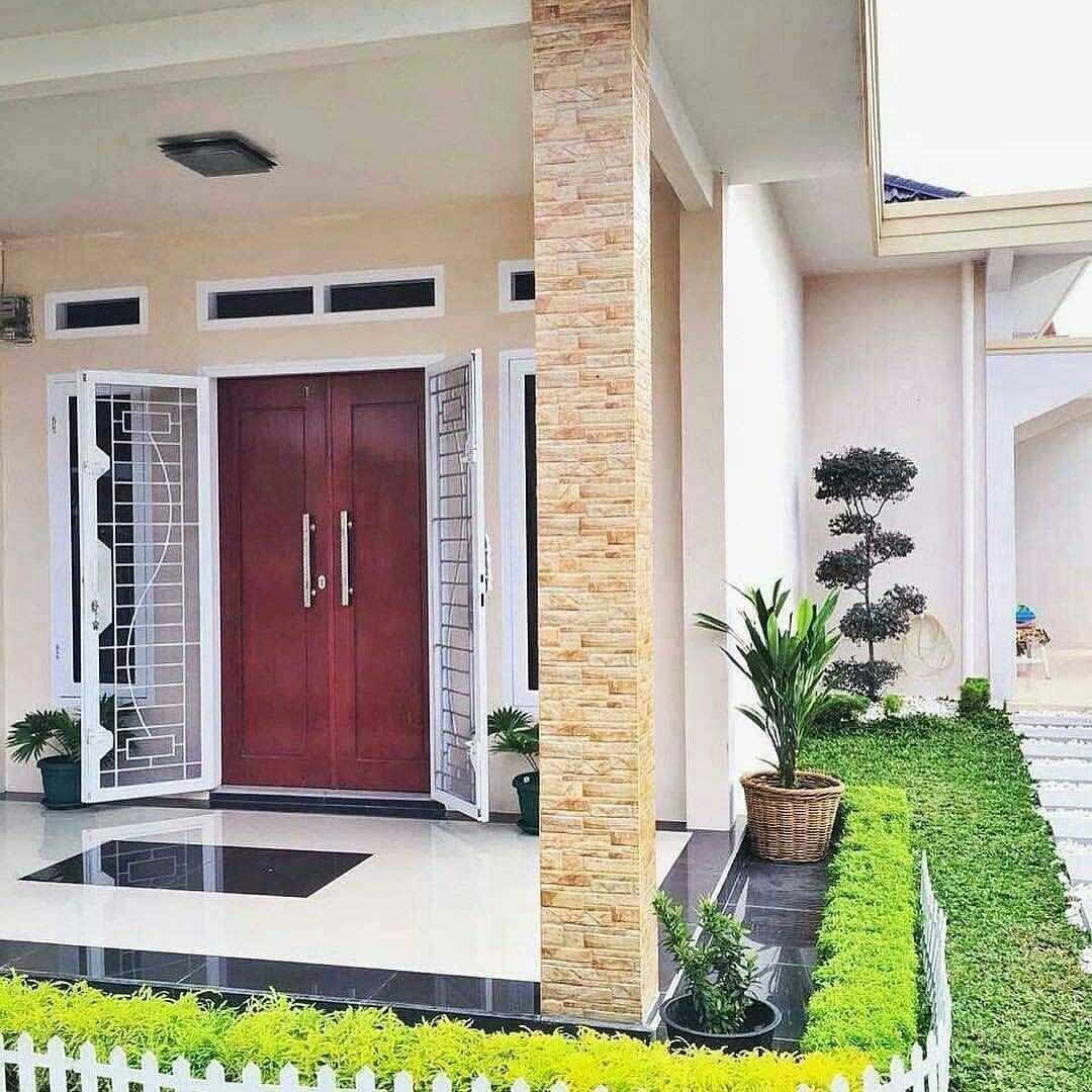 Gambar Desain Pintu Rumah Minimalis 2 Pintu Terbaru