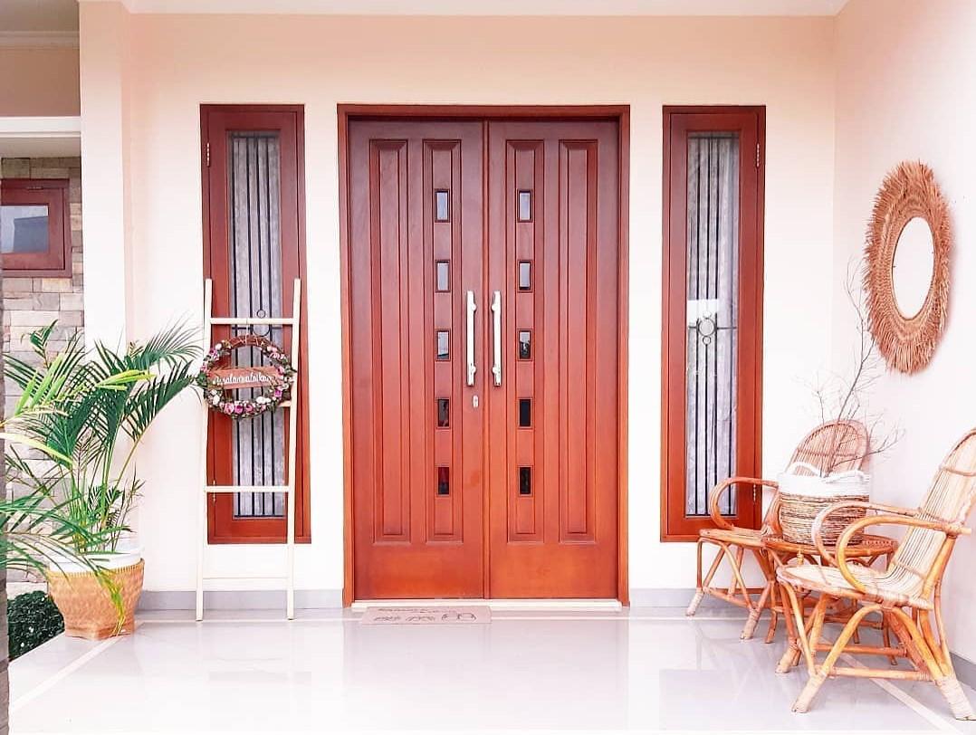 Gambar Model Pintu Rumah Minimalis 2 Pintu Terbaru