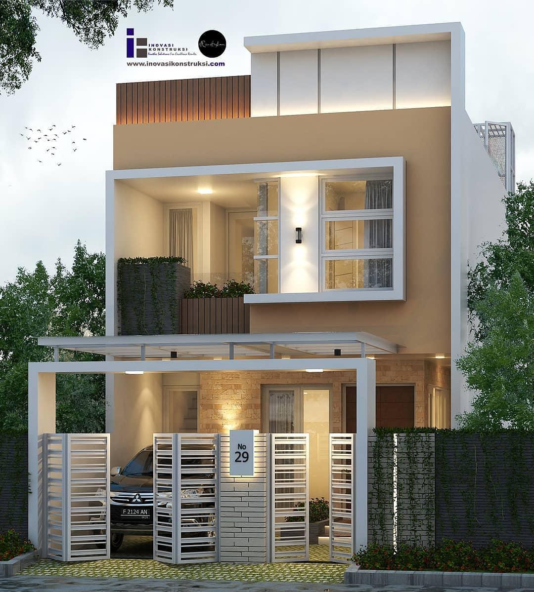 Gambar Model Rumah Minimalis 2 Lantai Terbaru