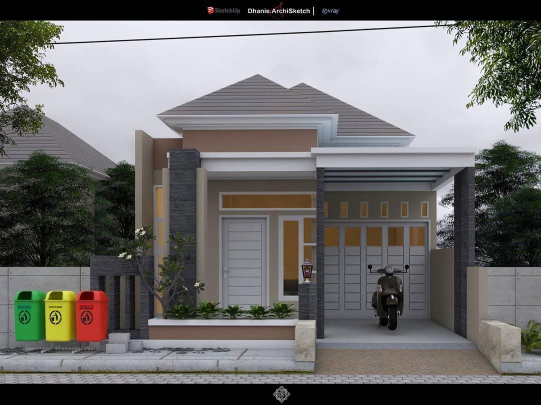 Gambar Model Rumah Minimalis Sederhana 1 Lantai