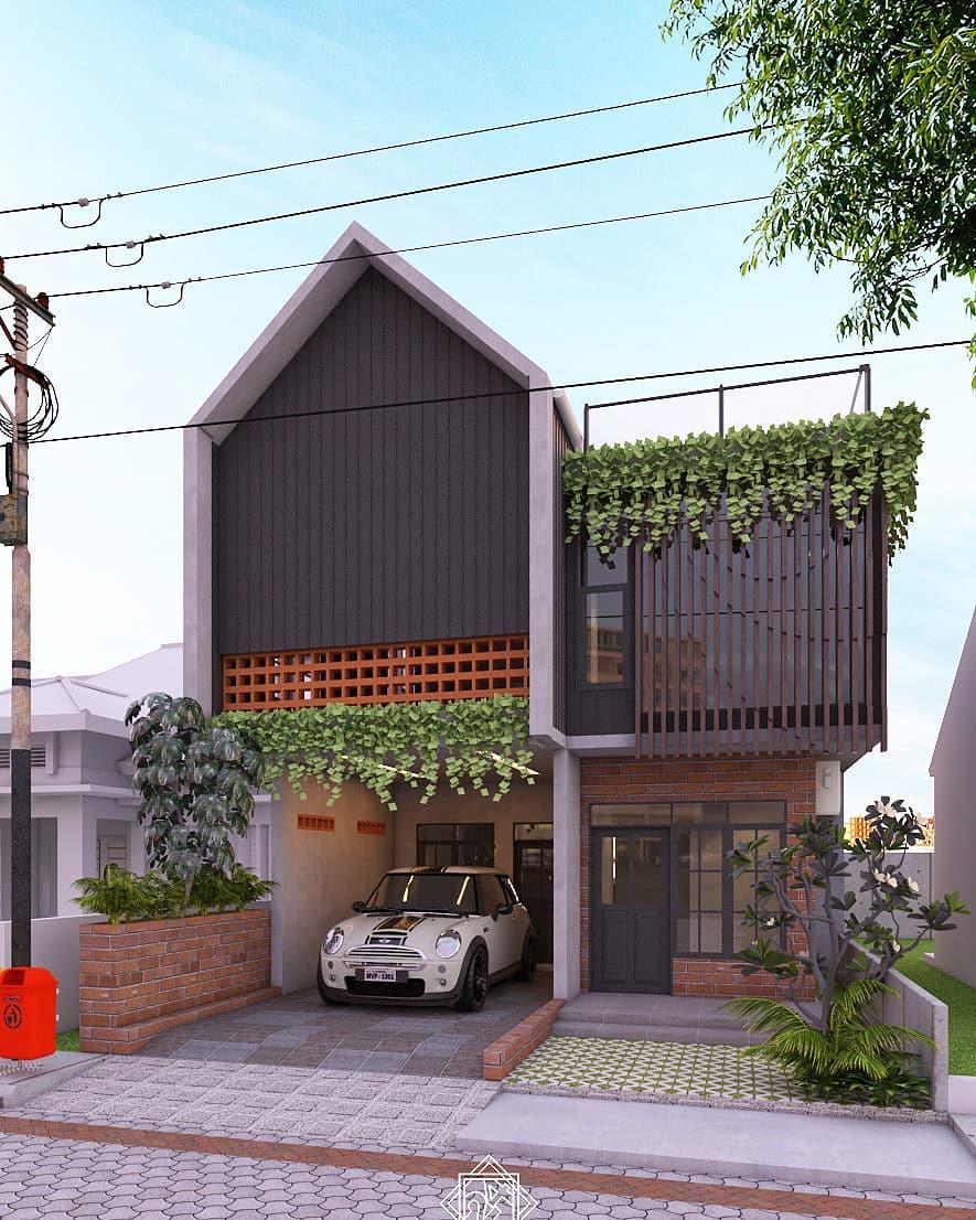 Inspirasi Rumah Minimalis Tampak Depan Terbaru