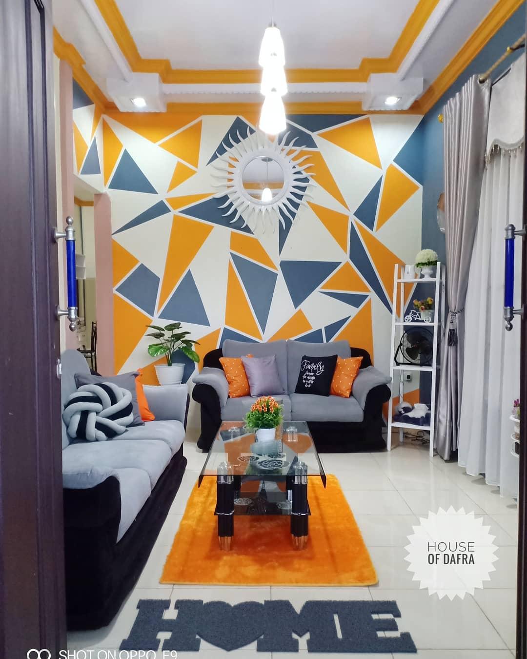 Kombinasi Warna Cat Tembok Ruang Tamu Yang Bagus