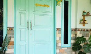 Model Pintu Minimalis 2 Pintu Besar Kecil Terbaru