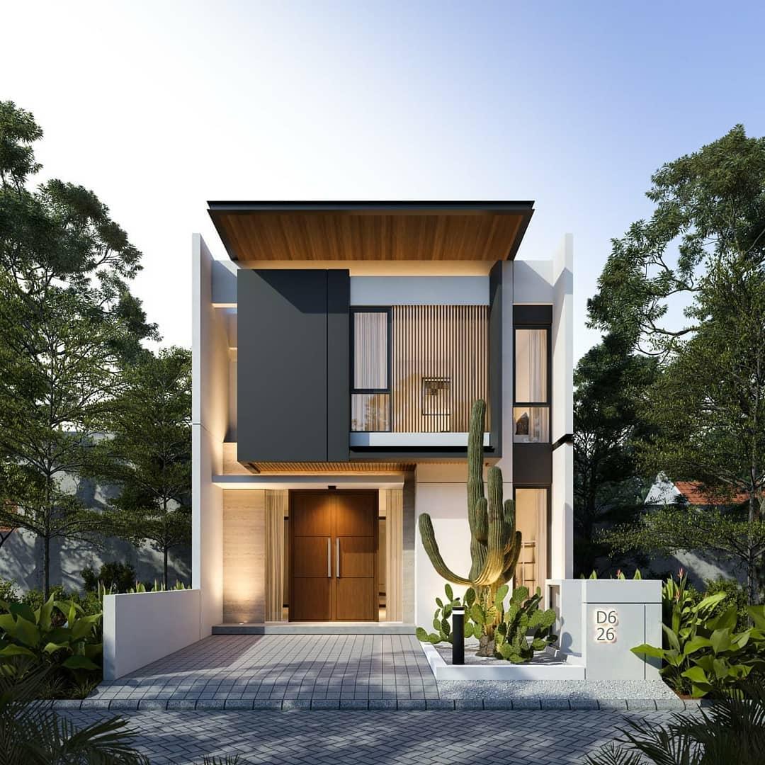 Model Rumah Minimalis 2 Lantai Terbaru