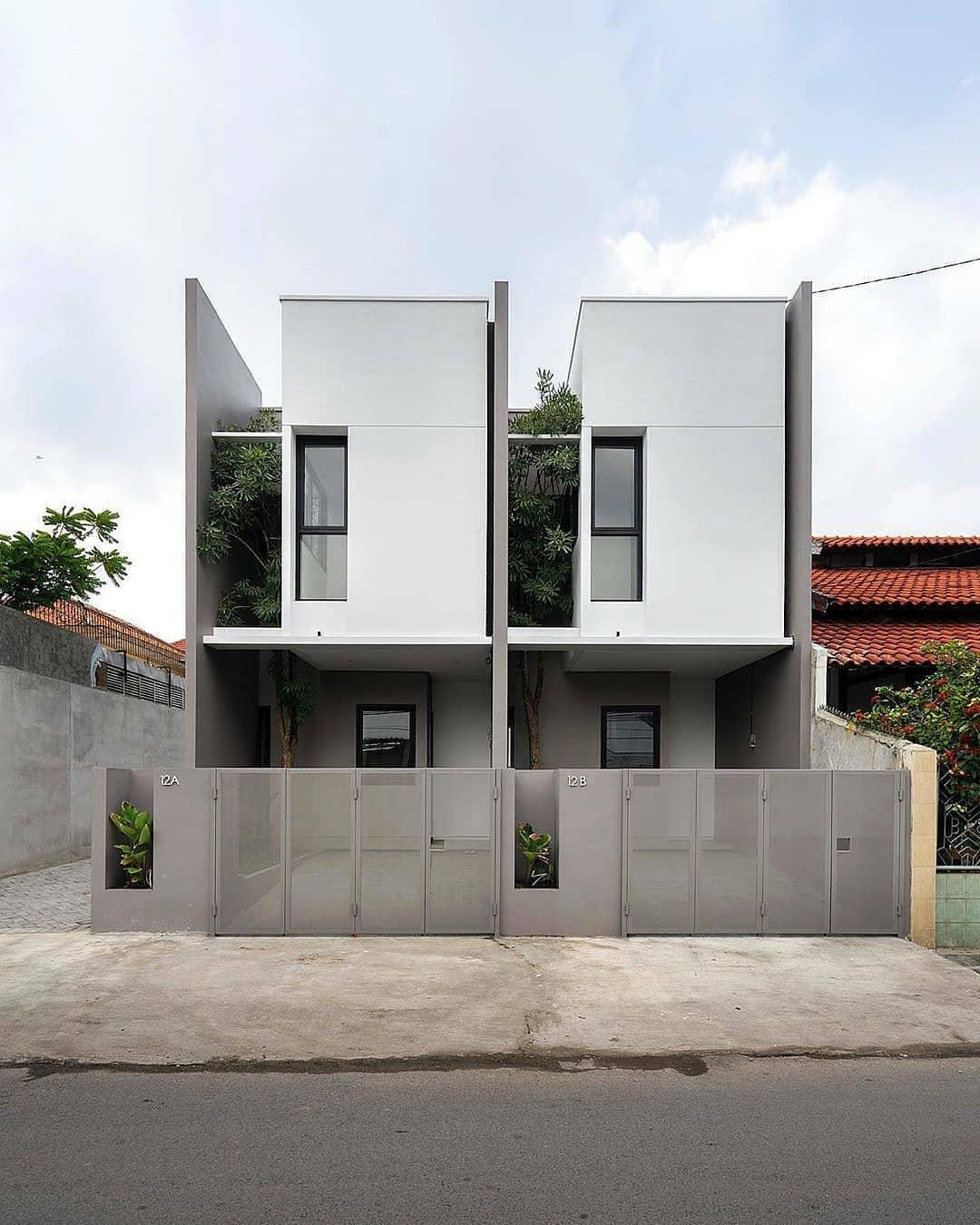 Model Rumah Minimalis Sederhana 2 Lantai Terbaru Modern