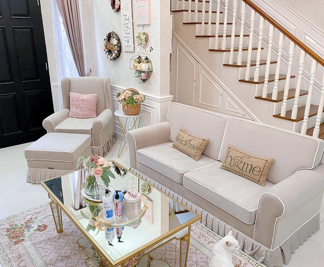 Model Sofa Minimalis Ruang Tamu Shabby Terbaru