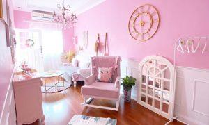 Terbaru Warna Cat Tembok Ruang Tamu Yang Bagus Pink