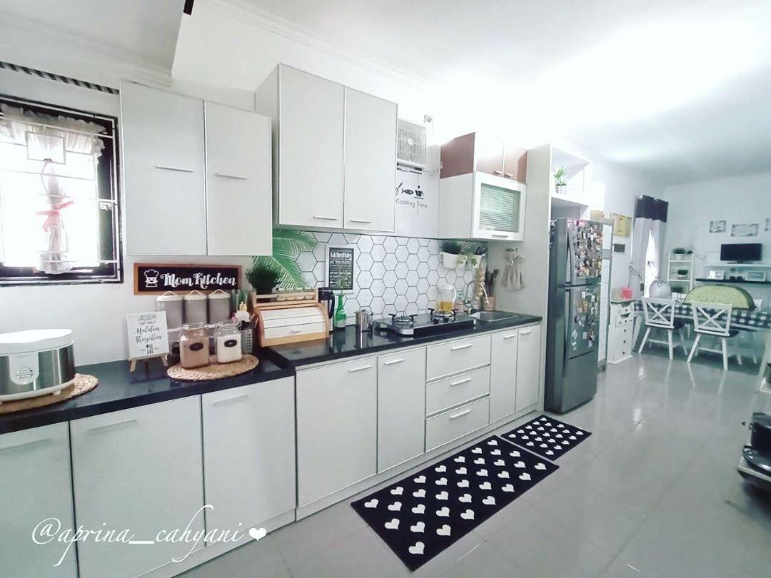 Desain Kitchen Set Dapur Minimalis Warna Putih