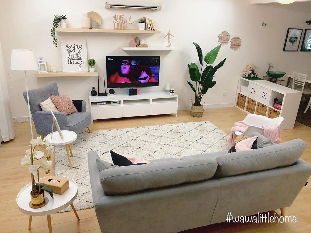 Desain Rak TV Minimalis Moden Mewah Terbaru