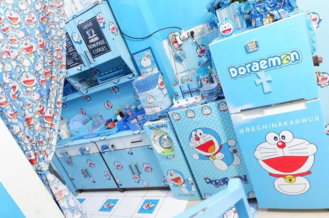 Gambar Desain Dapur Doraemon