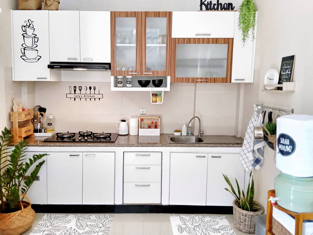Gambar Kitchen Set Minimalis Dapur Sederhana Modern