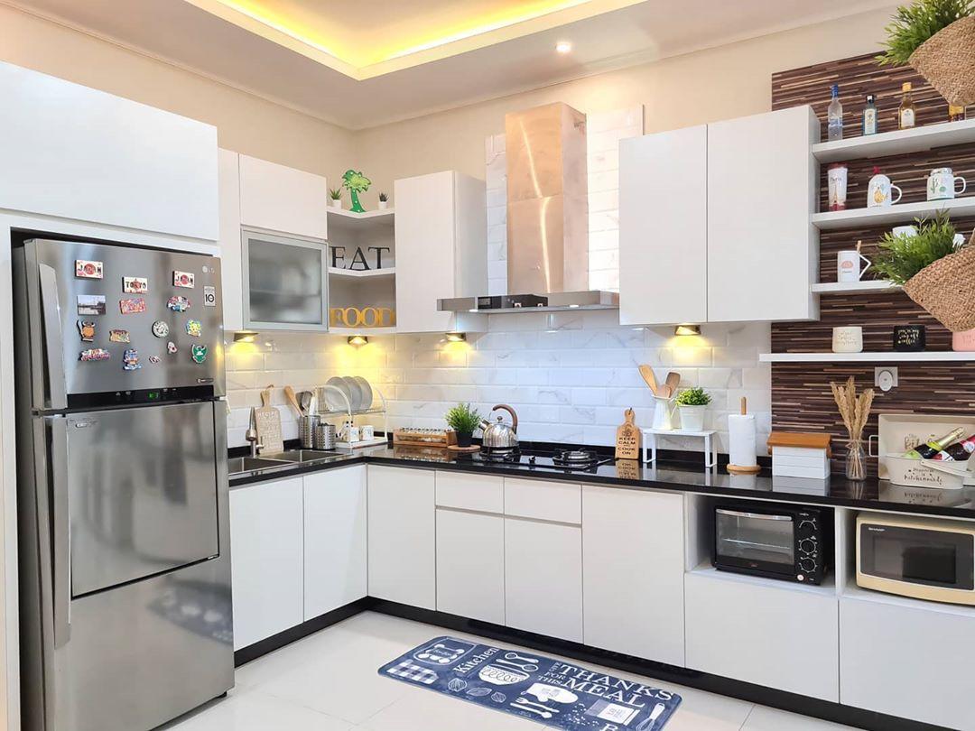 Gambar Model Kitchen Set Minimalis Modern Dapur Kecil Sederhana Mewah