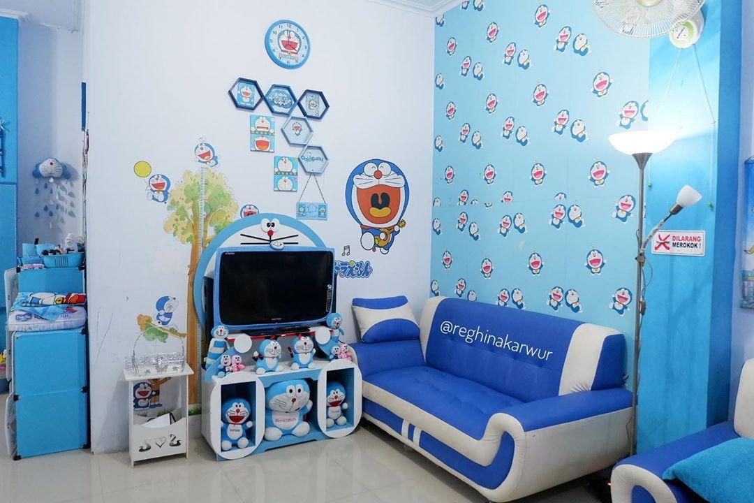 Gambar Ruang TV Doraemon