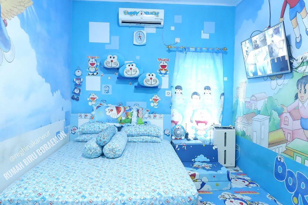 Model Desain Kamar Tidur Doraemon