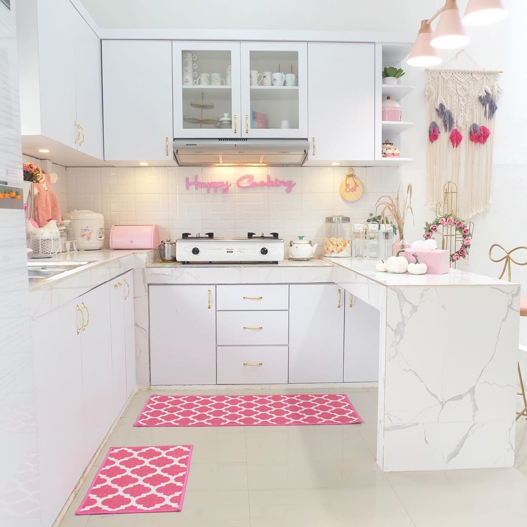 Model Kitchen Set Minimalis Modern Mewah Terbaru Shabby