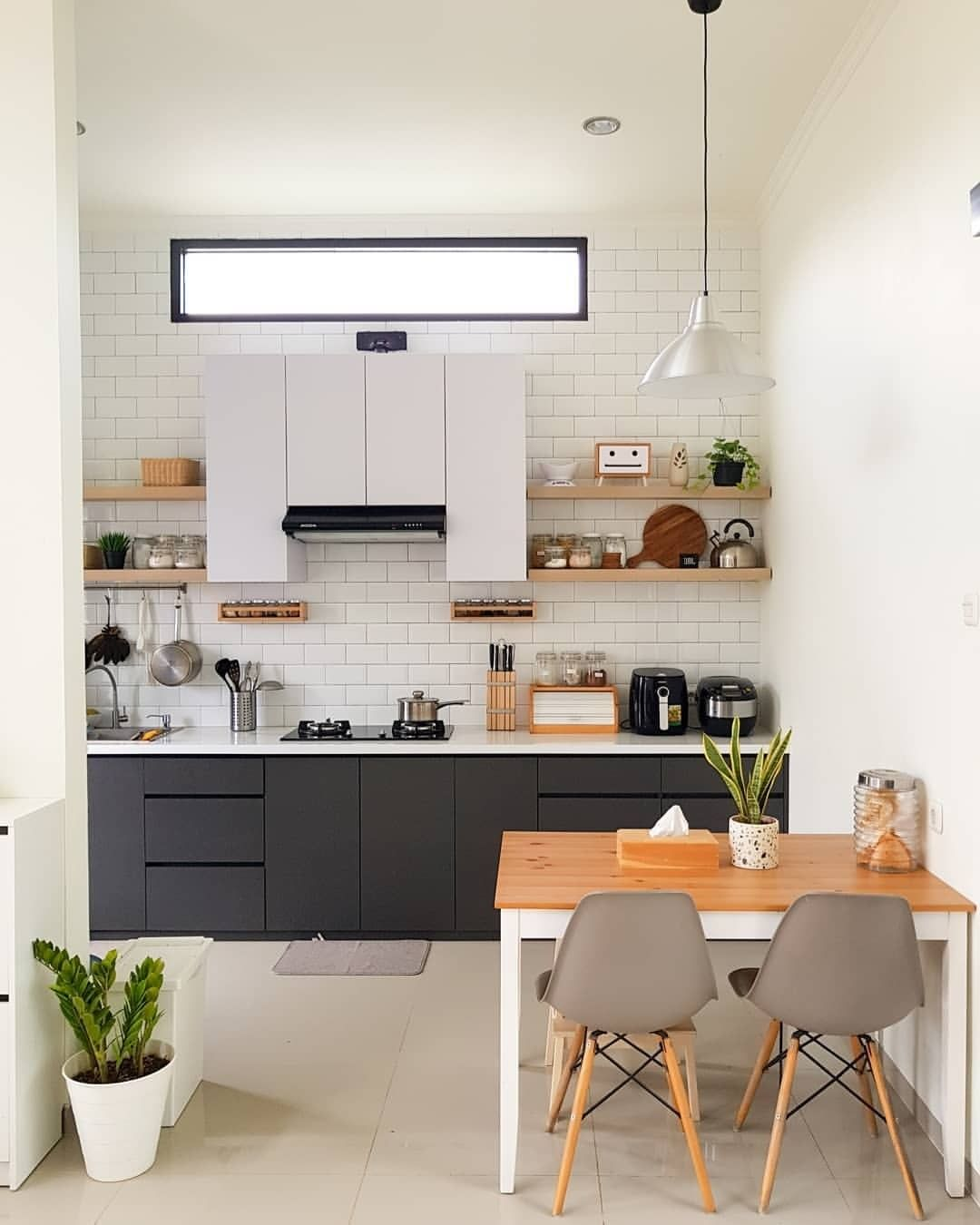 15 Model Kitchen Set Minimalis Dapur Kecil Sederhana Namun ...