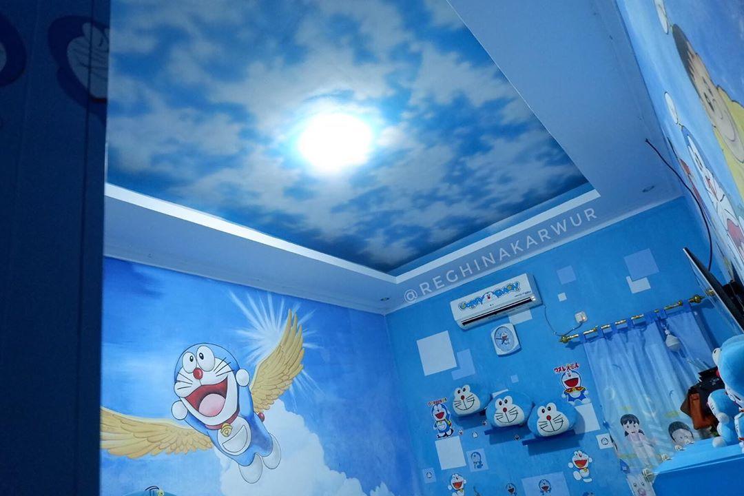 Model Plafon Kamar Doraemon