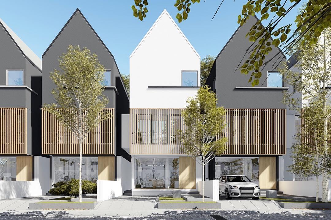 Gambar Rumah Minimalis 2 Lantai Tampak Depan Terbaru