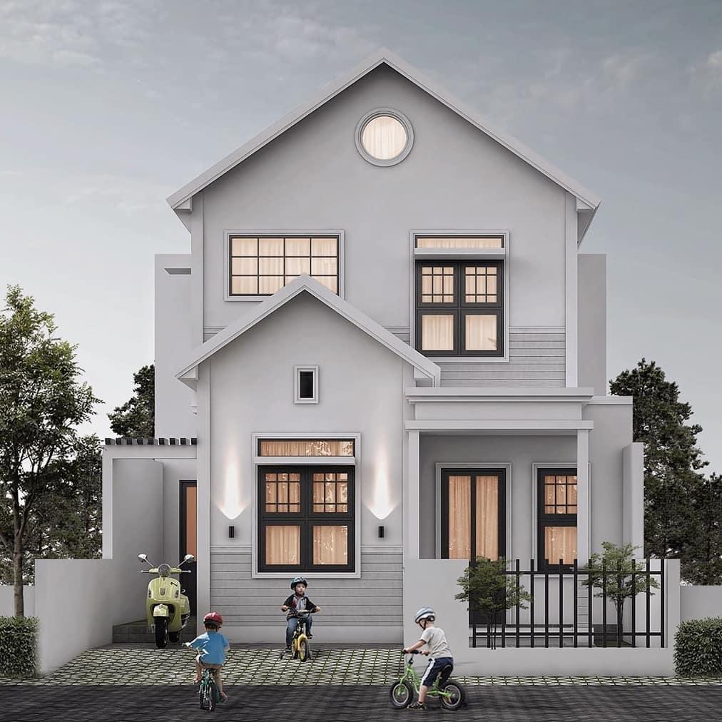 Model Rumah 2 Lantai Minimalis Unik Sederhana Terbaru