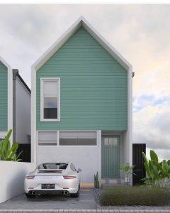 12 model rumah minimalis 2 lantai tampak depan terbaru